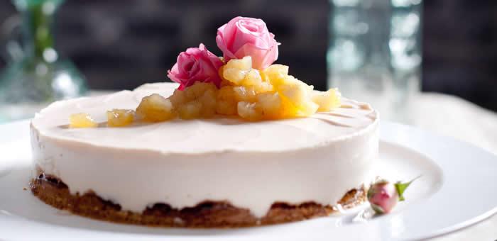 rose-cheesecake top